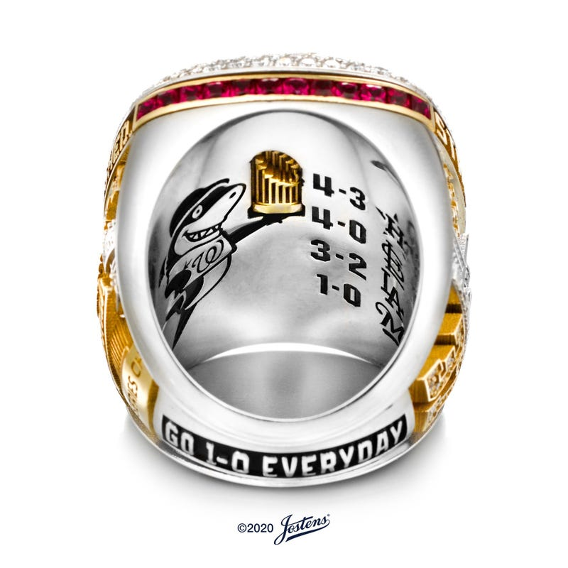 Nationals World Series Ring Meaning
