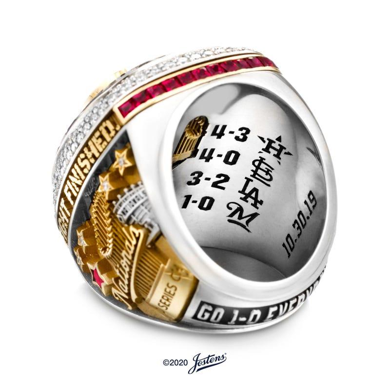 Nationals World Series Ring Inscription