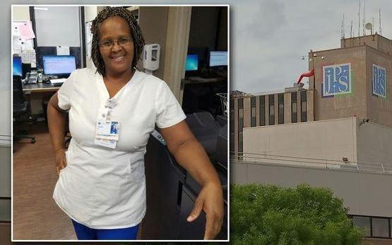 JPS management says nurse Carren Stratford was critically injured in an elevator accident on Jan. 20, 2019.