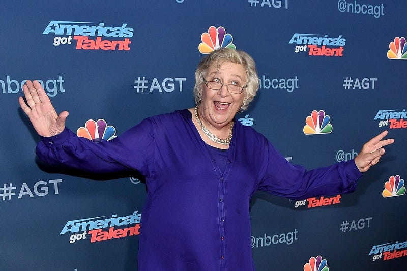 """Julia Scotti attends the """"America's Got Talent"""" Season 11 Live Show at Dolby Theatre on August 23, 2016 in Hollywood, California."""