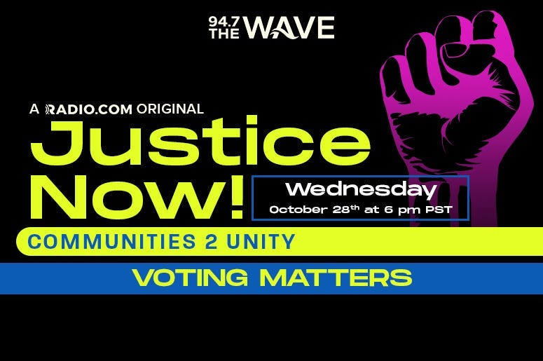 JUSTICE NOW: Voting Matters