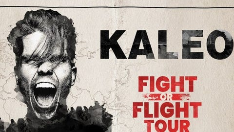 107.7 The End Presents KALEO - NEW DATE
