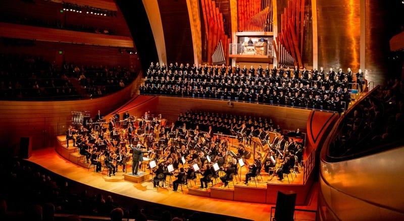 The KC Symphony at Kauffman Center in Kansas City, Missouri