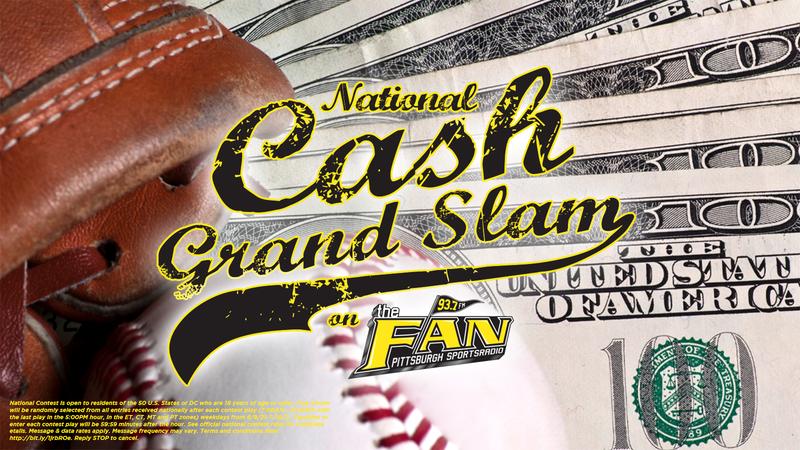 National Cash Grand Slam on 93.7 The Fan