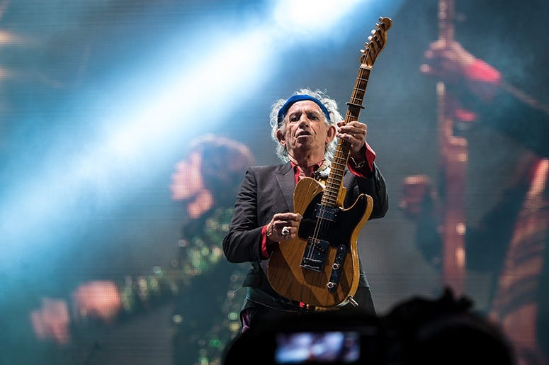 Keith Richards, Rolling Stones, Classic Rock