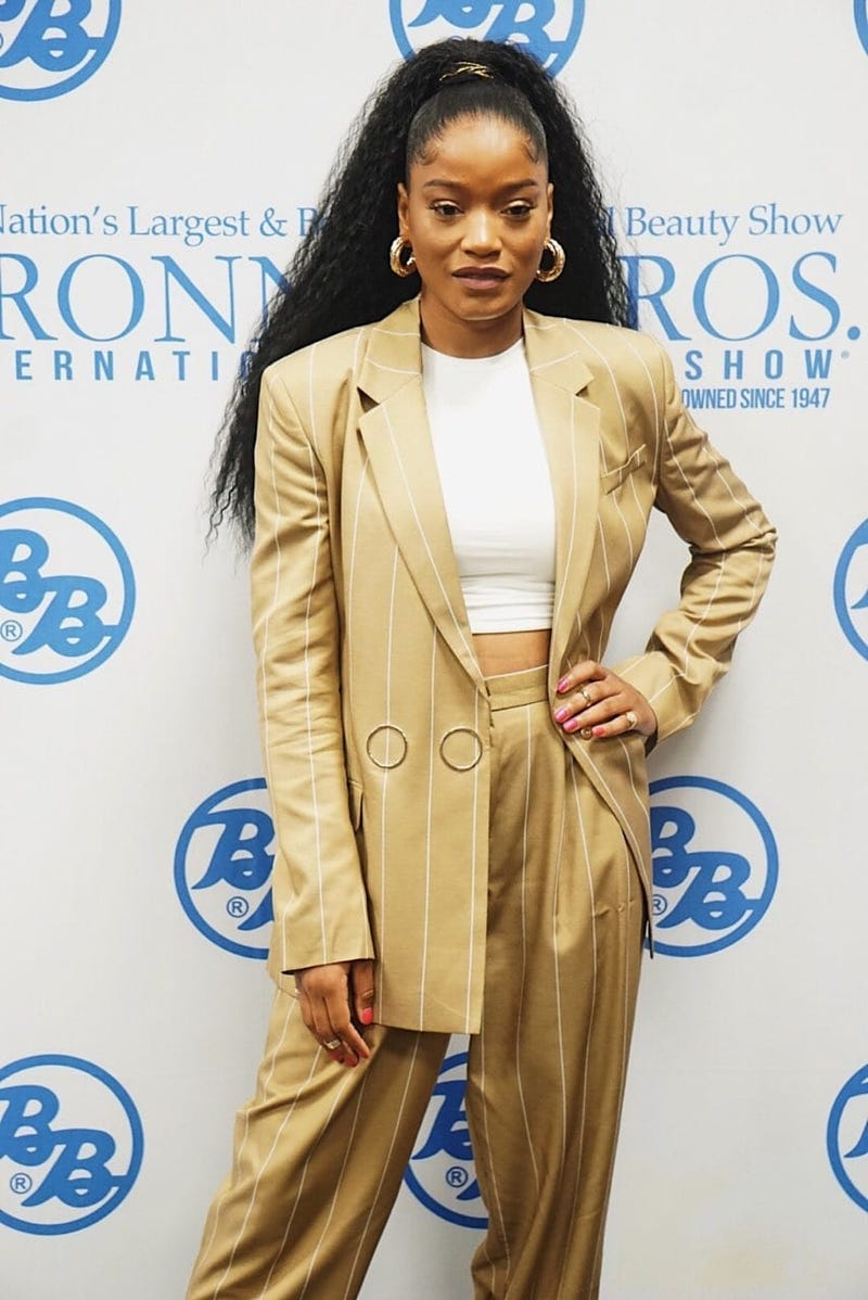 Singer and actress KeKe Palmer performed during Bronner Bros. Beauty Show 2019