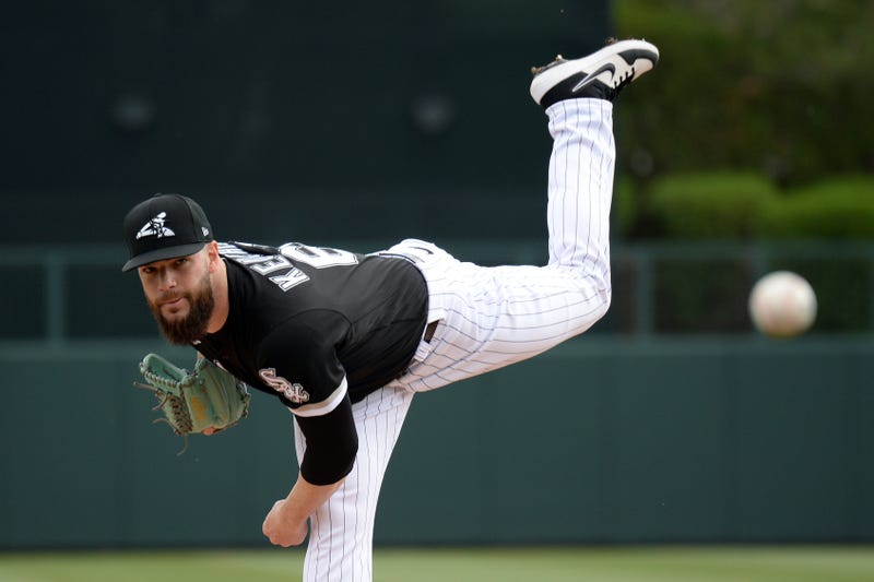 Dallas Keuchel pitches for the White Sox.
