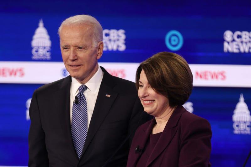 Klobuchar and Biden