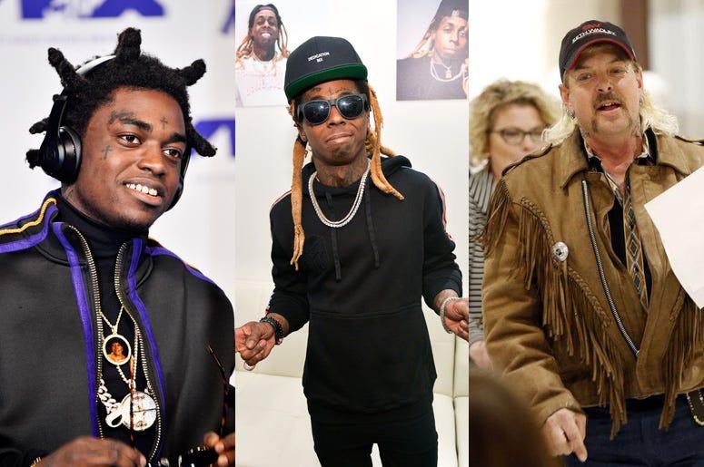 Kodak Black, Lil Wayne, Joe Exotic