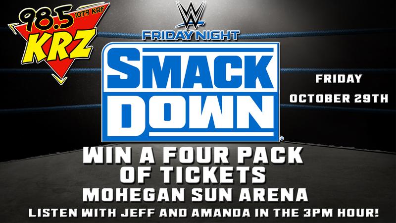 Win WWE Smackdown Tickets