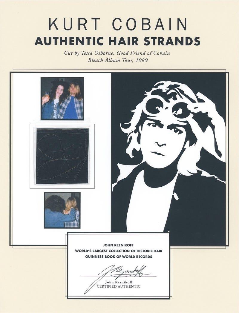 Nirvana: Kurt Cobain Hair Presentation