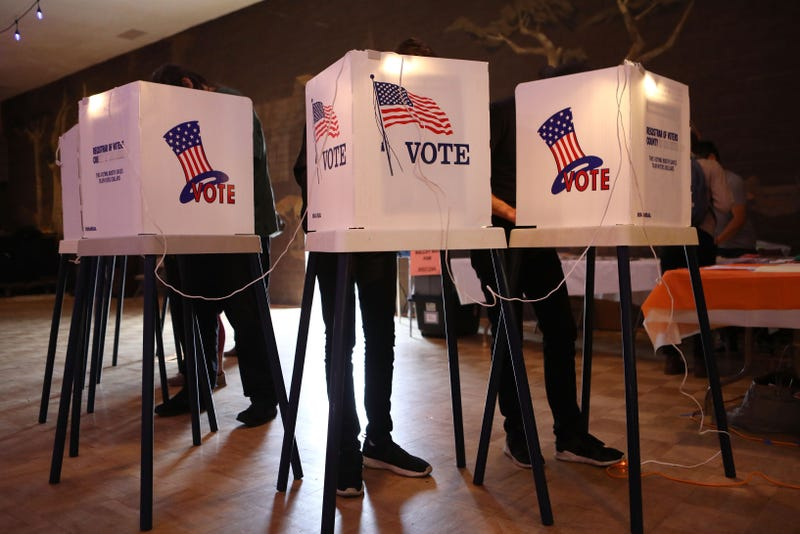 California voters take to the polls