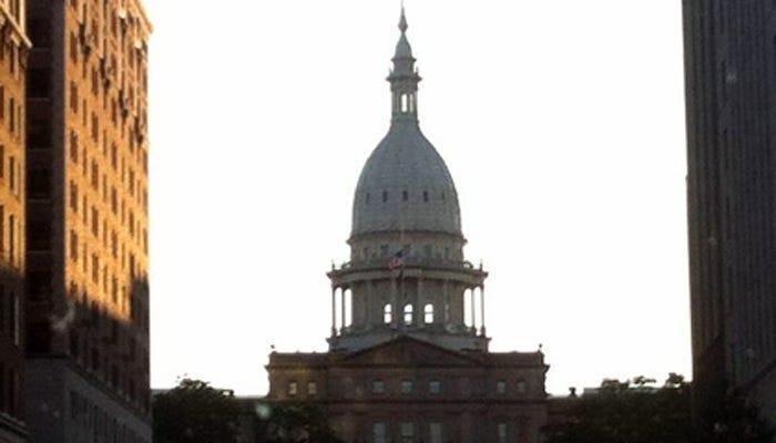 security increased at Michigan Capitol building