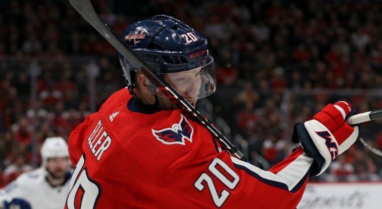 Playing hockey is in Lars Eller's bloodline