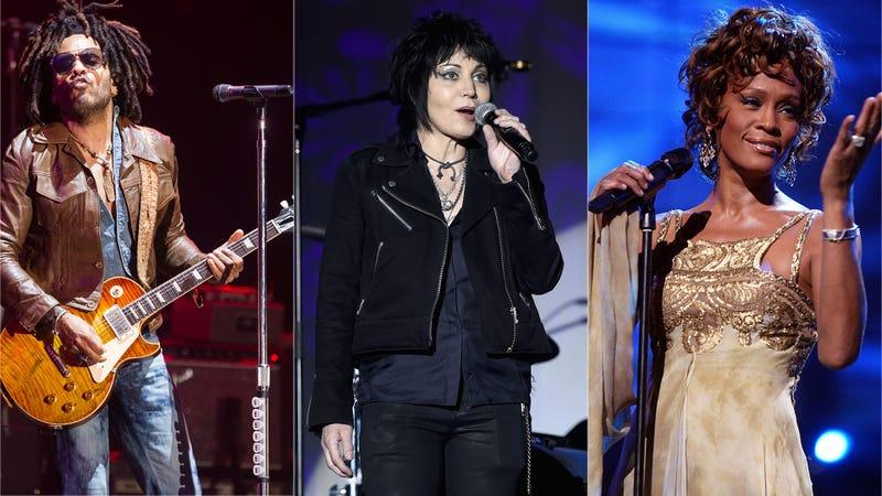 Lenny Kravitz, Joan Jett, Whitney Houston