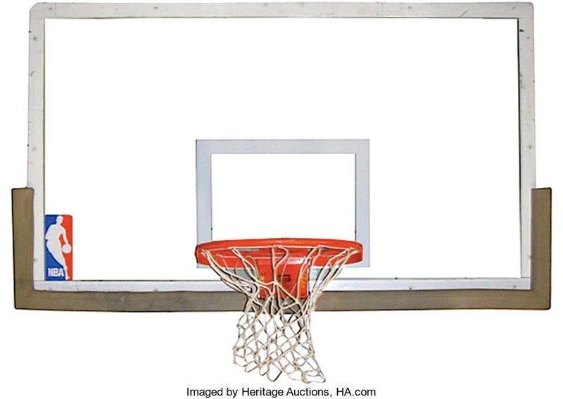 Backboard From Michael Jordan's 'The Shot'