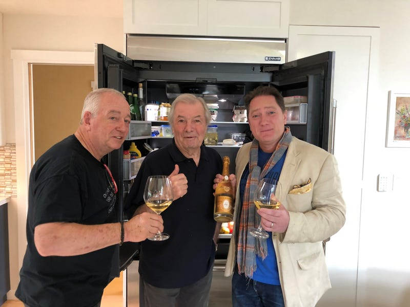 Foodie Chap Liam Mayclem with Chefs Roland Passot & Jacques Pepin