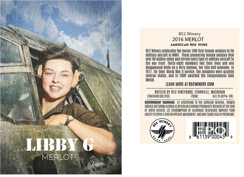 Libby Wine Label