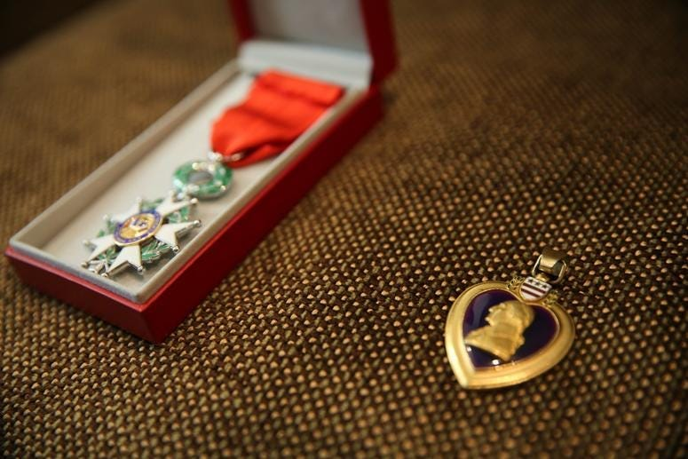 Don Greenbaum's Purple Heart