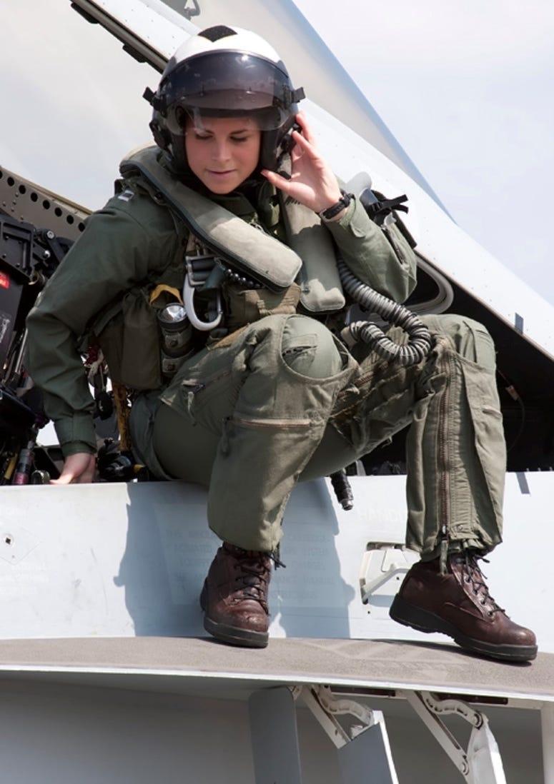 Lt. Cmdr. Naval Reservist Liz Corwin