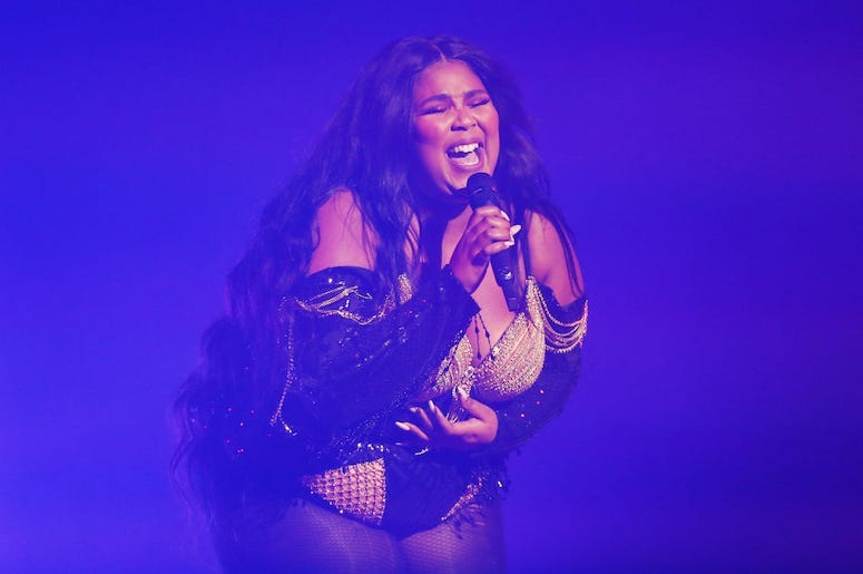 Lizzo performs live in concert.