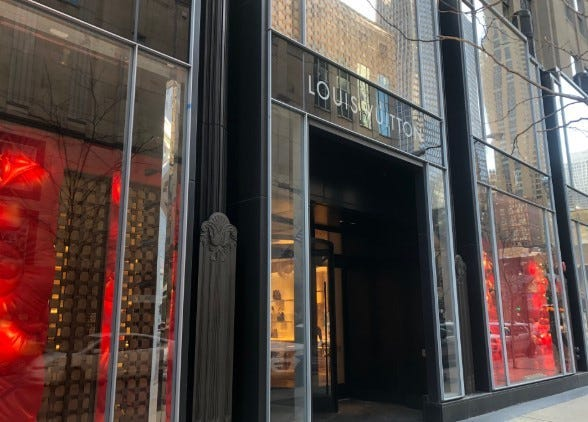 Louis Vuitton Store Robbed Chicago