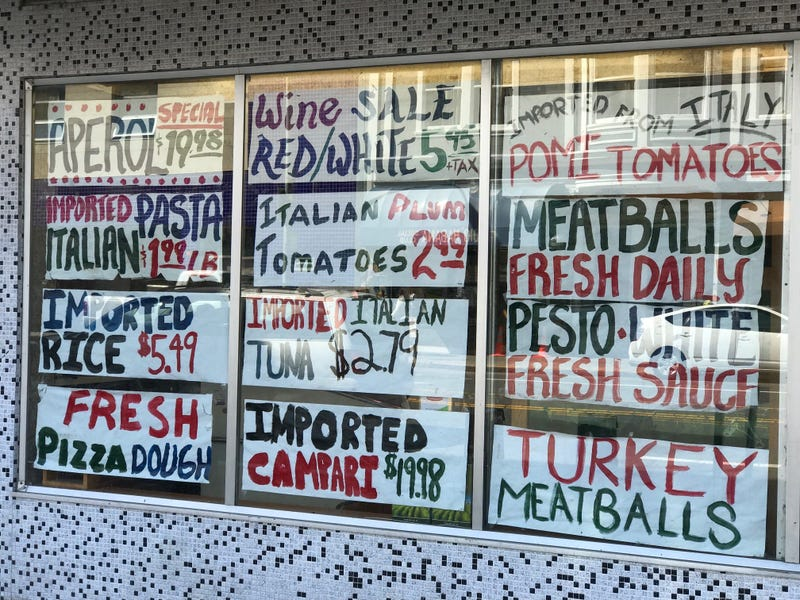 Lucca Ravioli in the Mission District is well-known for its homemade Italian food and imported delicacies.