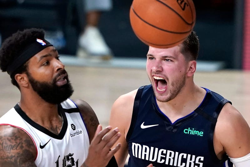 Luka Doncic Mavericks Clippers