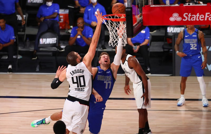 Luka Doncic Mavericks Clippers Game5