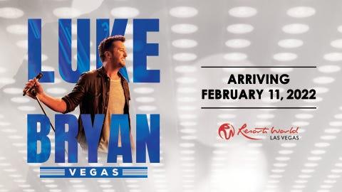 Luke Bryan - The Theatre at Resorts World Las Vegas
