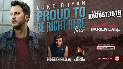 Luke Bryan: The Proud To Be Here 2020 Tour