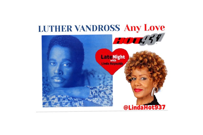 Luther Vandross Any Love 1st Late Night Love