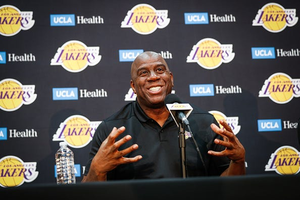 Magic Johnson talks about the Lakers upcoming 2018 season.