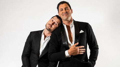 Maks & Val from Dancing with The Stars , at Cleveland Agora