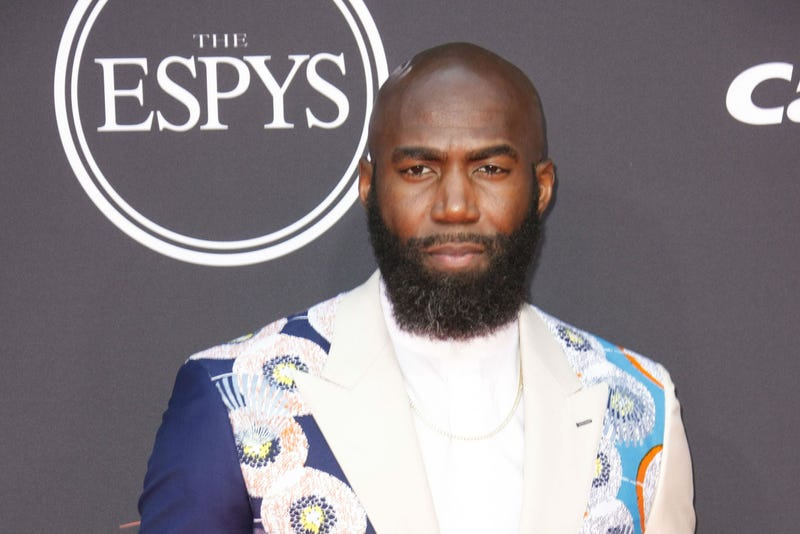 Malcolm Jenkins attends The 2019 ESPYS presented by Capital One at the Microsoft Theater on July 10, 2019 in Los Angeles, California.