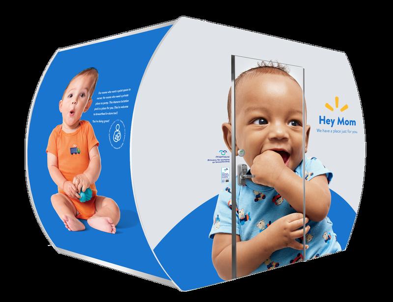 Walmart breastfeeding pod
