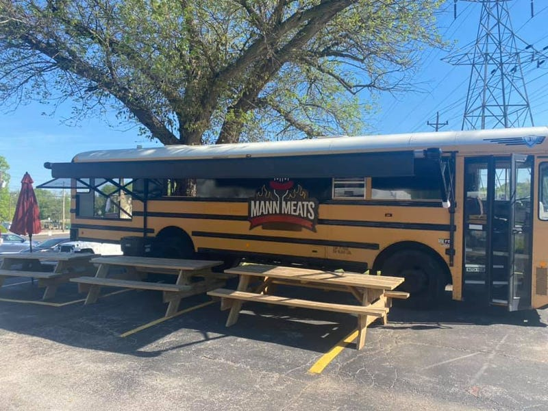 Mann Meats bus