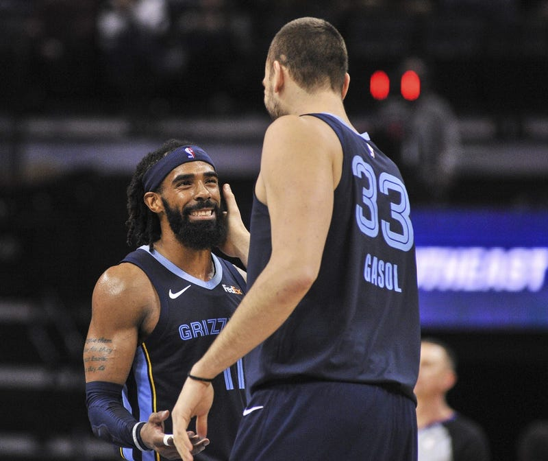 Marc Gasol and Mike Conley