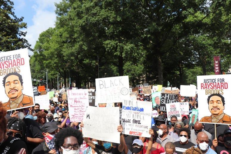 Georgia NAACP March on Georgia Protest-31