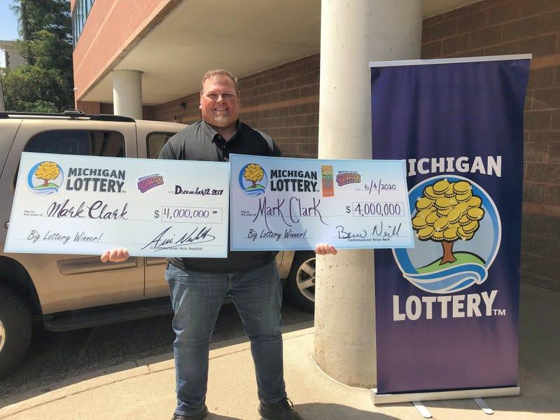 mark clark lottery winner