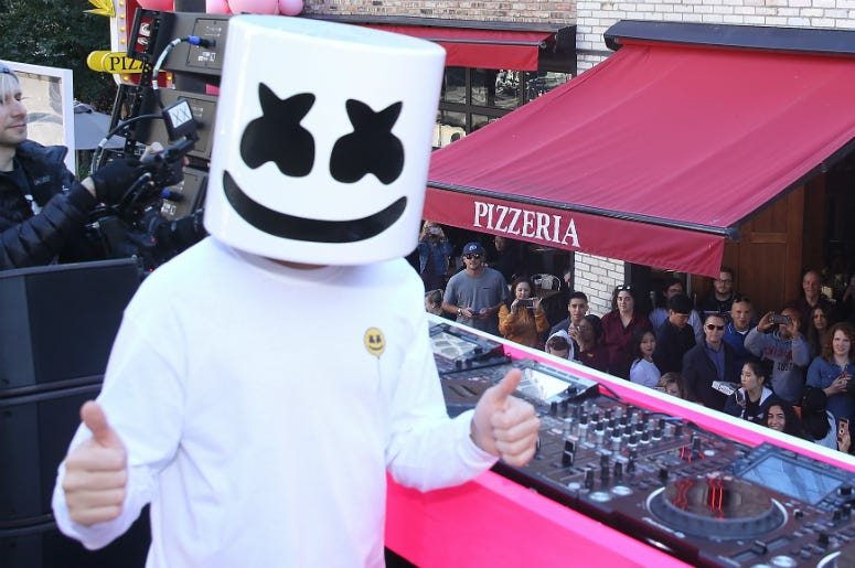 Marshmello Saves A Life In New