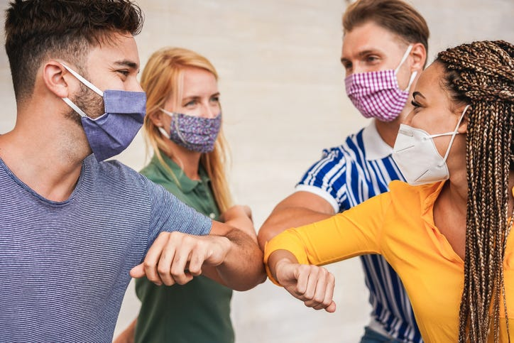 Airlines ban cloth masks
