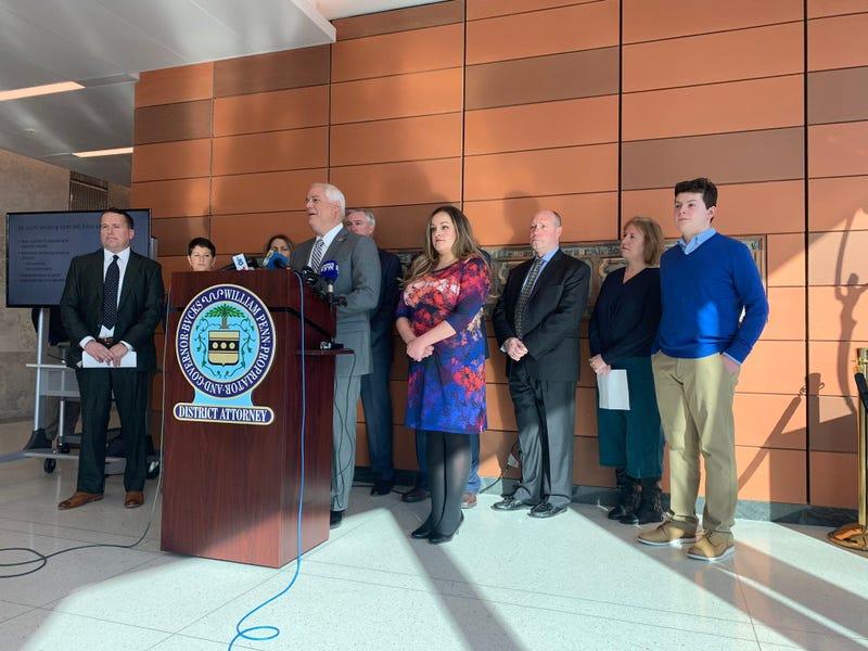 Bucks District Attorney Matt Weintraub accuses JUUL Labs, Inc and new Jersey-based JUUL pod manufacturer EonSmoke, LLC of purposely targeting children.