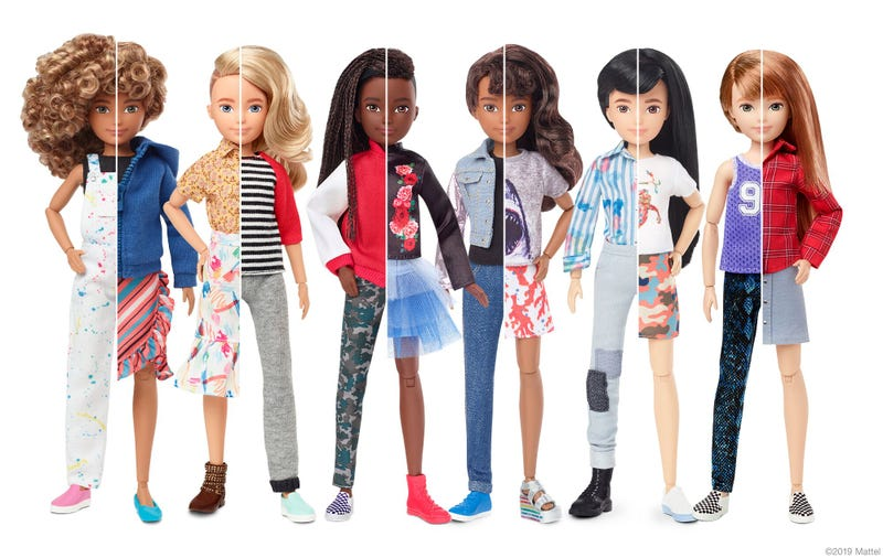 Barbie Gets a New Gender Inclusive Look