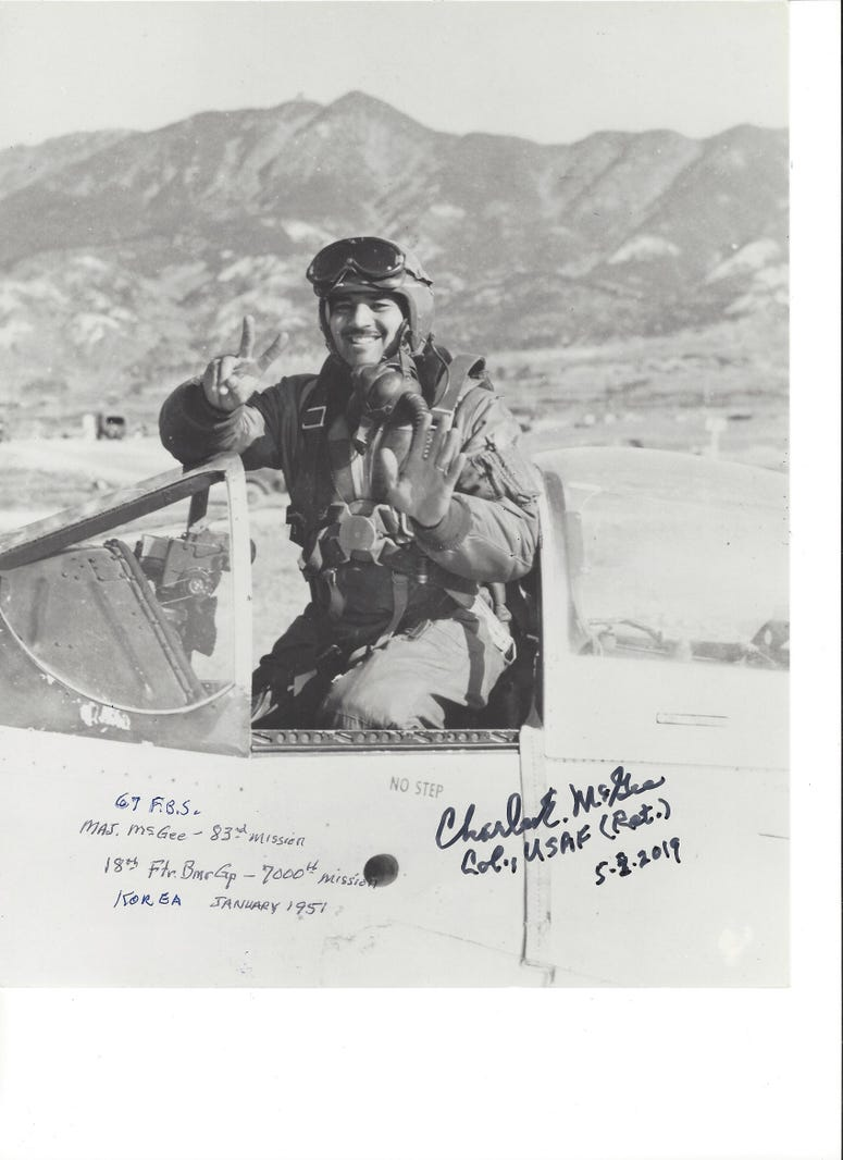 Col. Charles McGee a Tuskegee Airman