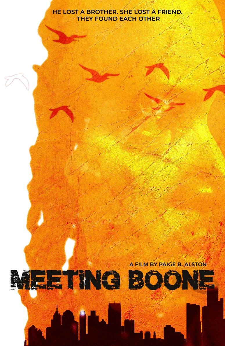 Meeting Boone poster