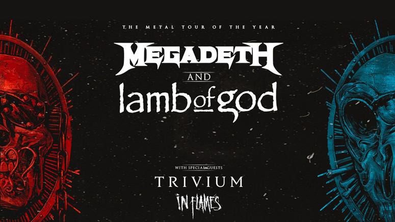 *RESCHEDULED* Megadeth