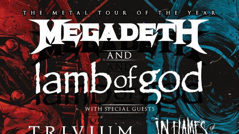 Megadeath and Lamb Of God