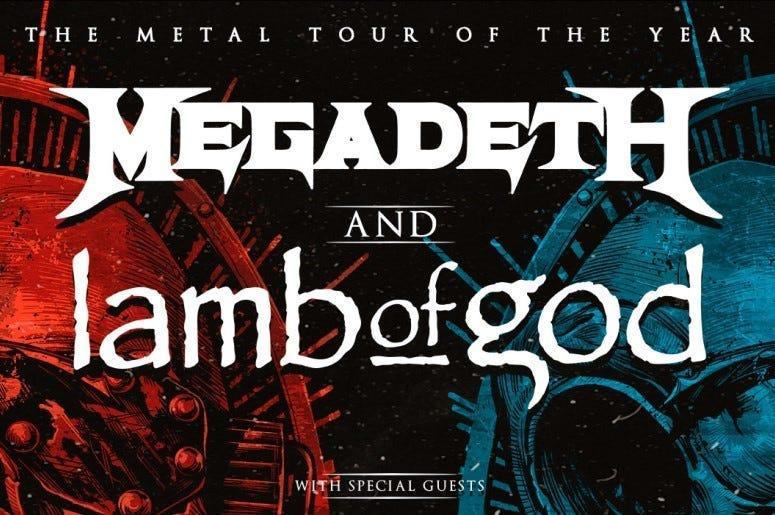 Megadeth at White River Amphitheatre