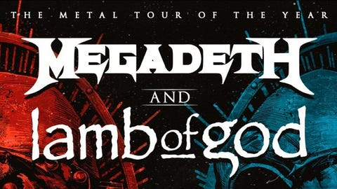 KISW Presents Megadeth and Lamb of God - NEW DATE